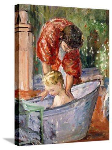 The Bath; Le Bain-Henri Lebasque-Stretched Canvas Print