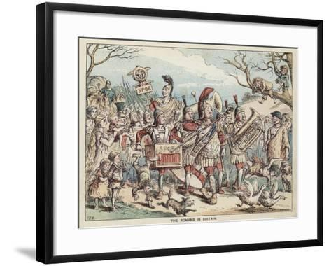 The Romans in Britain--Framed Art Print