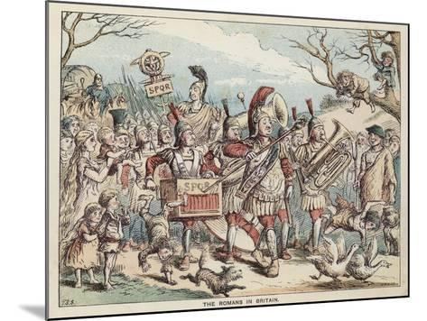 The Romans in Britain--Mounted Giclee Print