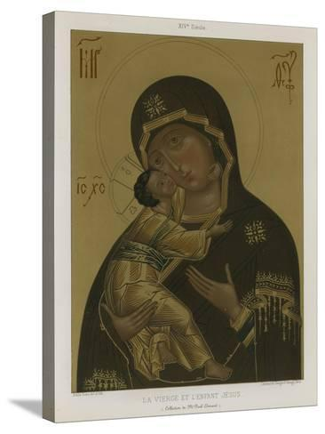 The Virgin Mary with the Baby Jesus--Stretched Canvas Print