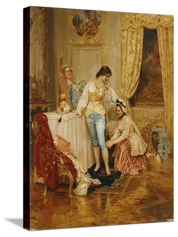 Dressing for a Masquerade-Fabio Cipolla-Stretched Canvas Print