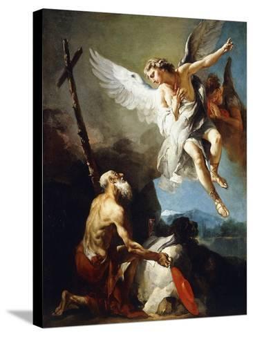 The Vision of Saint Jerome, C.1720-22-Giovanni Battista Tiepolo-Stretched Canvas Print