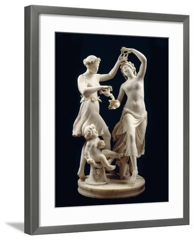 The Dancers-Edward William Cooke-Framed Art Print