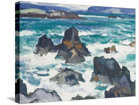 A Rough Day, Iona-Samuel John Peploe-Stretched Canvas Print