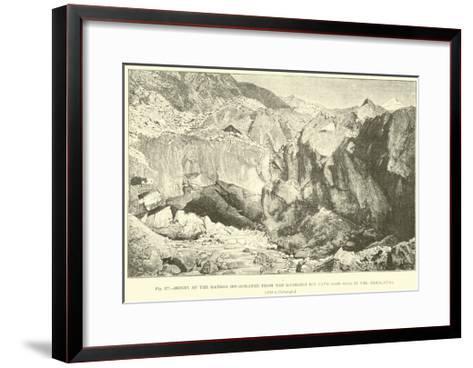 Origin of the Ganges--Framed Art Print