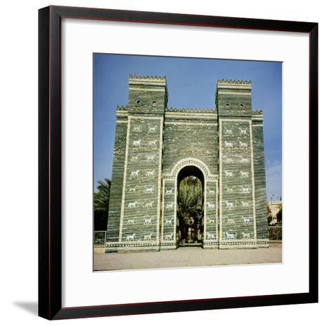 The Ishtar Gate, Babylonian, C.580 Bc--Framed Art Print