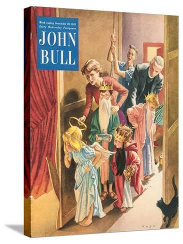 Front Cover of 'John Bull', December 1952--Stretched Canvas Print