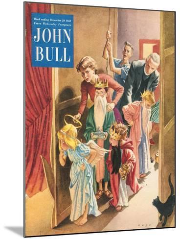 Front Cover of 'John Bull', December 1952--Mounted Giclee Print