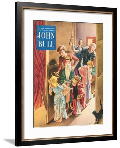 Front Cover of 'John Bull', December 1952--Framed Art Print