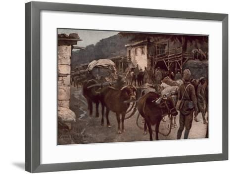 Turkey in the World War--Framed Art Print