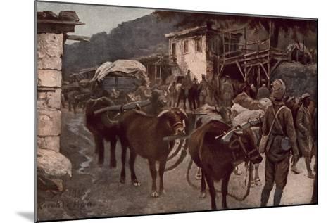 Turkey in the World War--Mounted Giclee Print