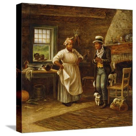 The Carpetbagger-William de la Montagne Cary-Stretched Canvas Print