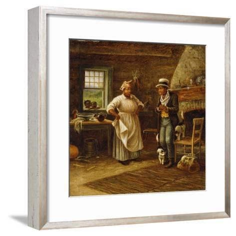 The Carpetbagger-William de la Montagne Cary-Framed Art Print