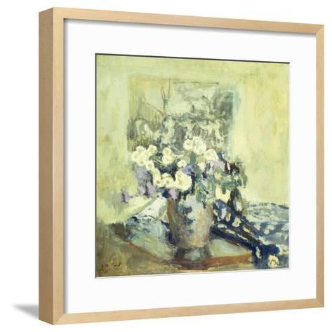 Vase De Fleurs, 1906-Edouard Vuillard-Framed Art Print