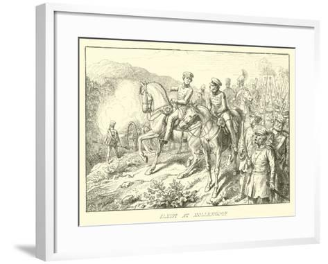 Kleist at Mollendorf--Framed Art Print