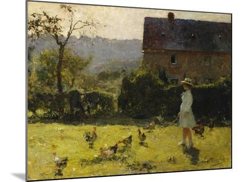 By the Farmhouse-Evariste Carpentier-Mounted Giclee Print