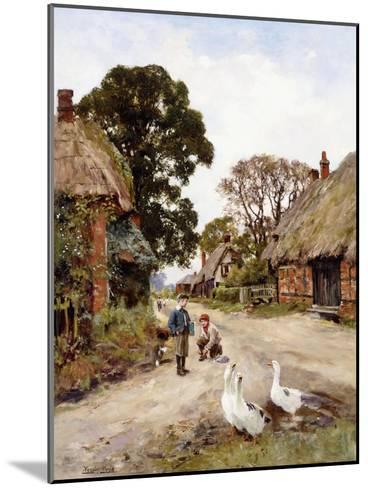 Off to School-Henry John Yeend King-Mounted Giclee Print