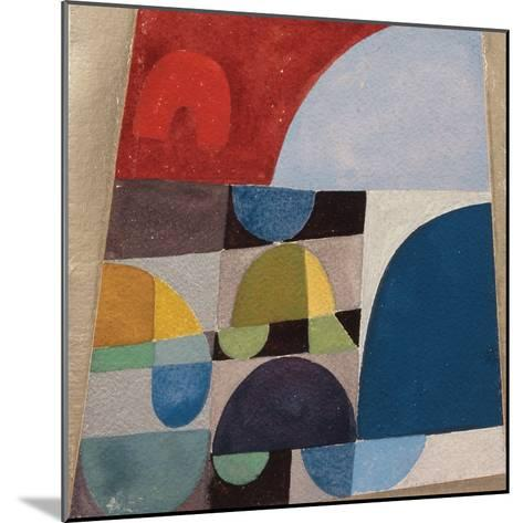 Untitled, 1920-Sophie Taeuber-Arp-Mounted Giclee Print