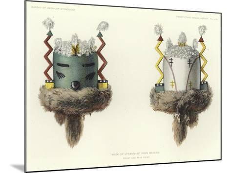 Mask of U'Wannami--Mounted Giclee Print