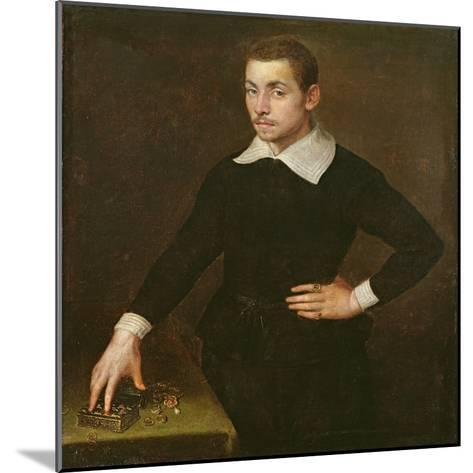 Portrait of a Young Florentine Goldsmith-Agnolo Bronzino-Mounted Giclee Print