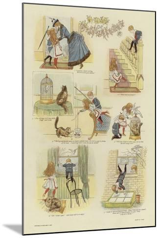 A Day of Misfortunes--Mounted Giclee Print