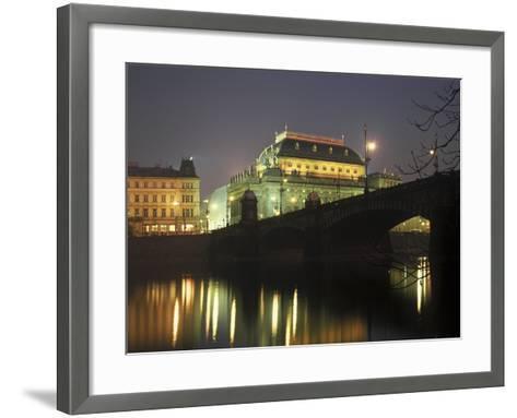 National Theatre, Prague, Czech Republic--Framed Art Print