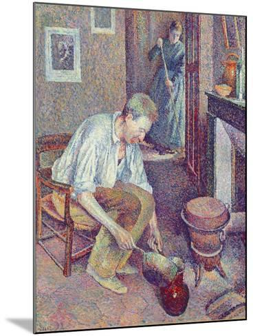 The Coffee, 1892-Maximilien Luce-Mounted Giclee Print