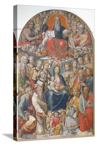 Paradise-Bartolomeo Neroni-Stretched Canvas Print