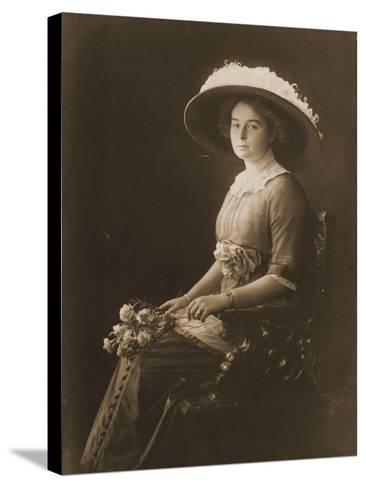 Victoria Margaret of Prussia, C.1910--Stretched Canvas Print