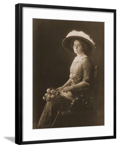 Victoria Margaret of Prussia, C.1910--Framed Art Print