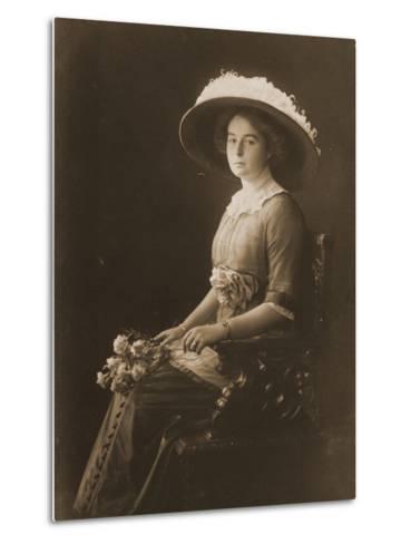 Victoria Margaret of Prussia, C.1910--Metal Print
