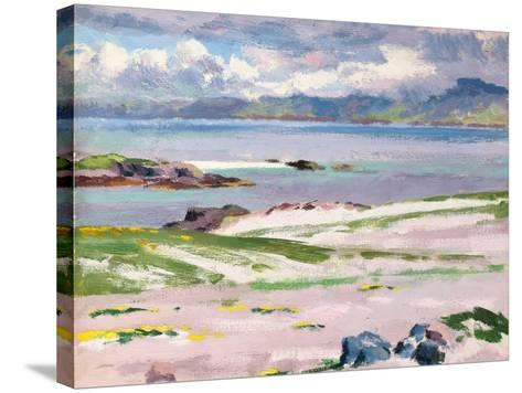 Towards Mull from Choc Ard Anraidh, Iona, C.1928-Francis Campbell Boileau Cadell-Stretched Canvas Print