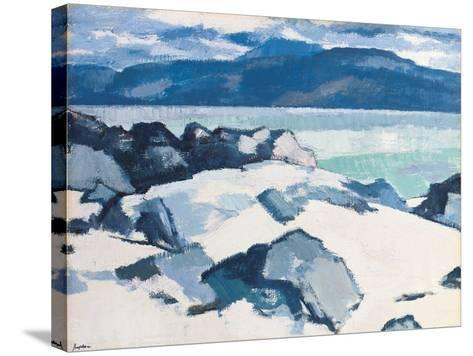 Ben More, Mull, from Iona-Samuel John Peploe-Stretched Canvas Print