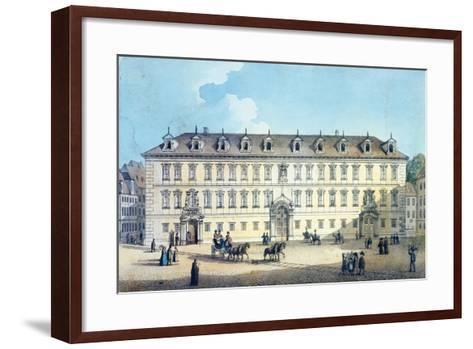 Wallenstein Palace, C.1830-Gustav Friedrich Amalius Taubert-Framed Art Print