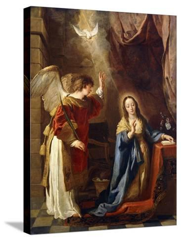 The Annunciation-Gaspar de Crayer-Stretched Canvas Print