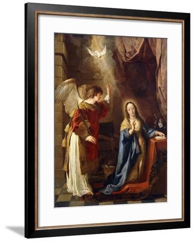 The Annunciation-Gaspar de Crayer-Framed Art Print