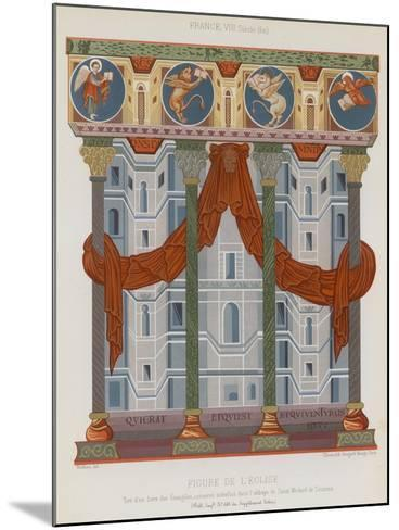 Image of a Church--Mounted Giclee Print