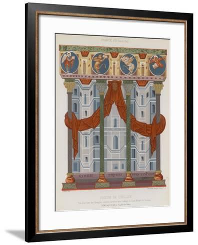 Image of a Church--Framed Art Print