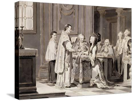 The Seven Sacraments: Marriage, 1779-Pietro Antonio Novelli-Stretched Canvas Print
