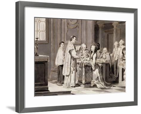 The Seven Sacraments: Marriage, 1779-Pietro Antonio Novelli-Framed Art Print