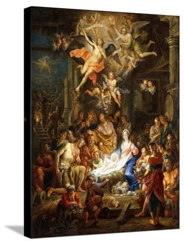 The Nativity-Frans Christoph Janneck-Stretched Canvas Print