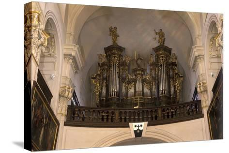 Organ in the Church of St. Gall--Stretched Canvas Print