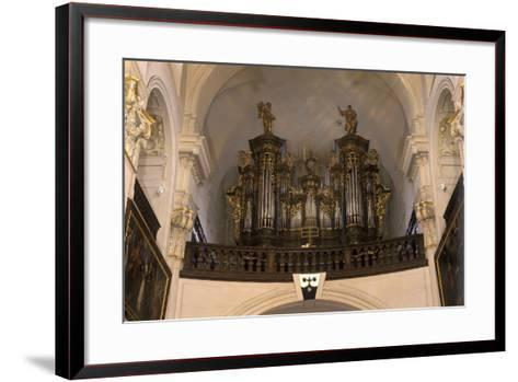 Organ in the Church of St. Gall--Framed Art Print