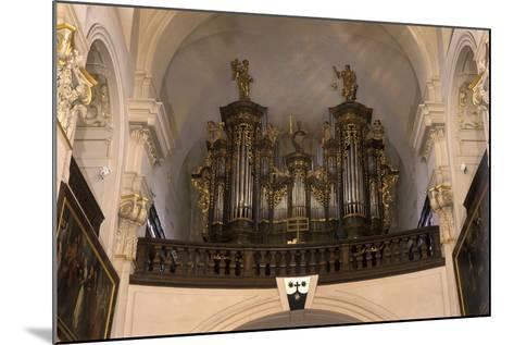 Organ in the Church of St. Gall--Mounted Photographic Print
