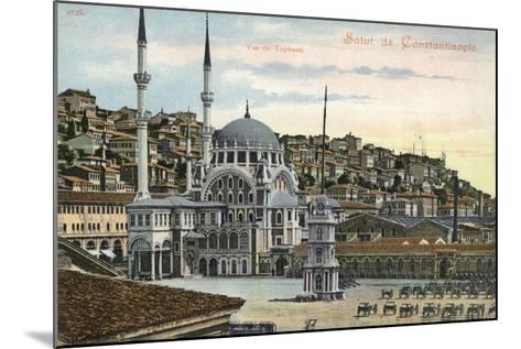 View of Tophane, Constantinople, Turkey--Mounted Photographic Print