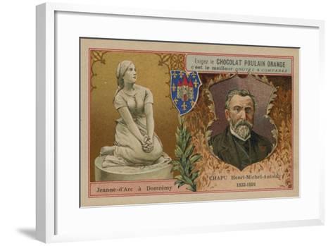 Chocolat Poulain Orange Trade Card--Framed Art Print