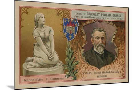 Chocolat Poulain Orange Trade Card--Mounted Giclee Print
