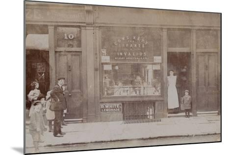 Shop Front--Mounted Photographic Print