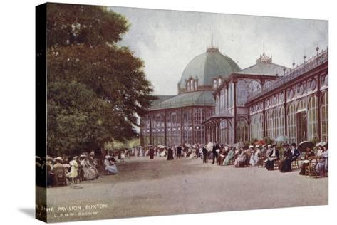 The Pavilion, Buxton--Stretched Canvas Print