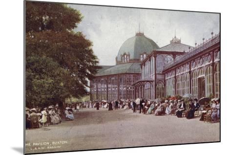 The Pavilion, Buxton--Mounted Photographic Print